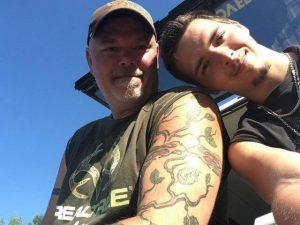 Richard and John Weberg