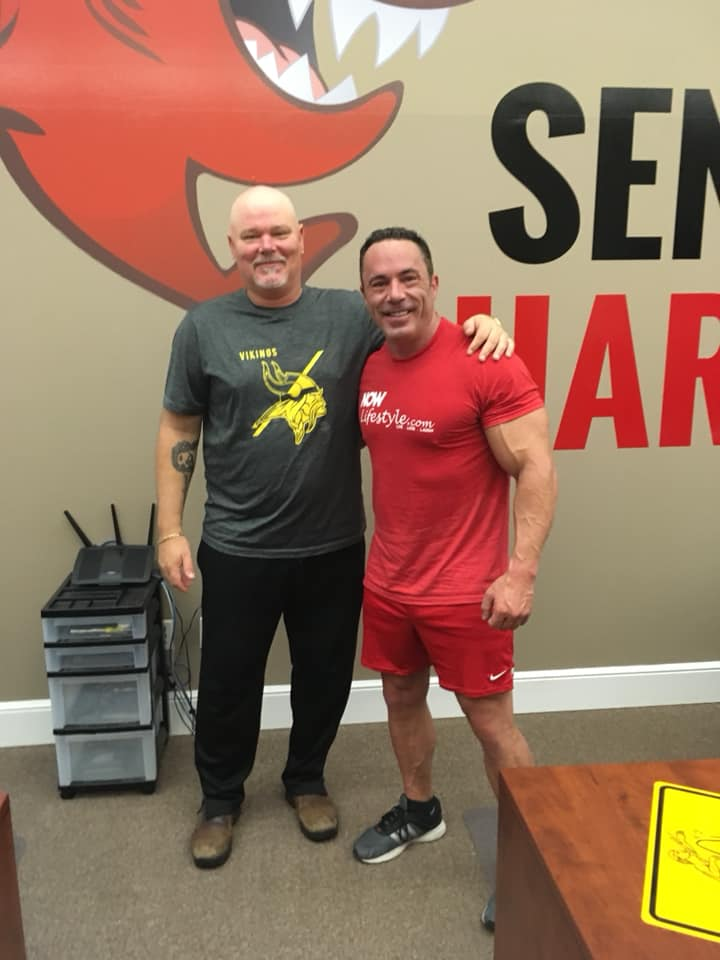 Joel Therien And Richard Weberg