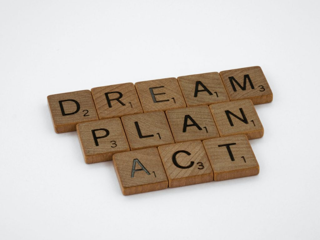 take action towards your goals